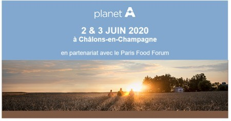 SAVE THE DATE Planet A -  Les 2&3 juin 2020
