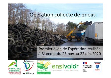 Bilan de l'opération ENSIVALOR réalisée par la CC de Vezouze en Piémont en partenariat avec la Chambre d'Agriculture 54
