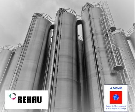 Un nouveau silo dédié aux MPR PVC à Morhange REHAU