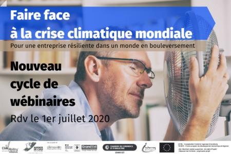 [Cycle de webinaires ] Faire face à la crise climatique mondiale : pour une entreprise résiliente dans un monde en bouleversement