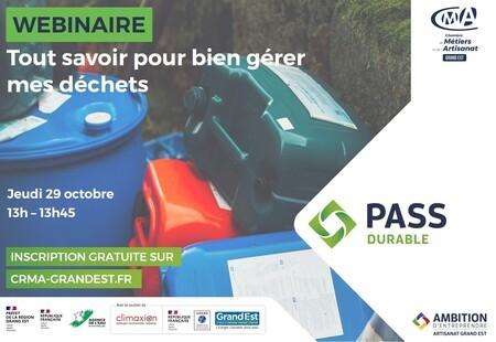 WEBINAIRE GRATUIT - Tout savoir pour bien gérer mes déchets