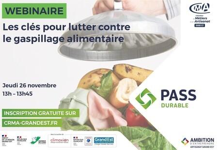 WEBINAIRE GRATUIT - Les clés pour lutter contre le gaspillage alimentaire