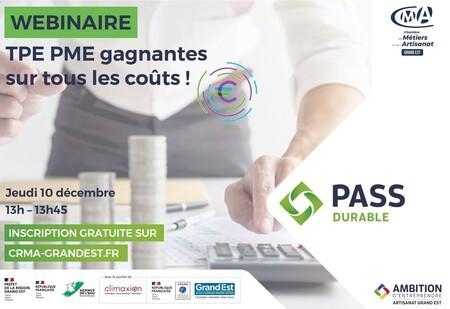 WEBINAIRE GRATUIT - TPE PME gagnantes sur tous les coûts !