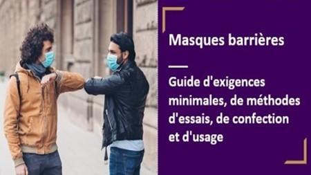 Gratuité des normes : fabrication masques + spécification technique masques barrières