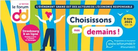 Forum dd 2021 - Choisissons nos Demains !