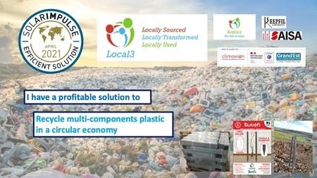 Du déchet au produit : Replace, la transformation des plastiques mélangés