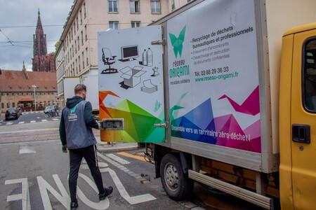 Recyclage et réemploi des déchets 5 flux avec le Réseau Origami
