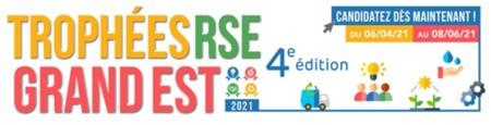 Trophées RSE Grand Est 2021 : il est encore temps de s'inscrire !