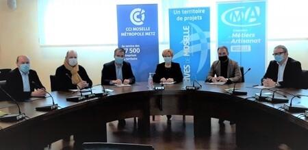 La Communauté de Communes Rives de Moselle lance des défis écologiques aux entreprises artisanales !
