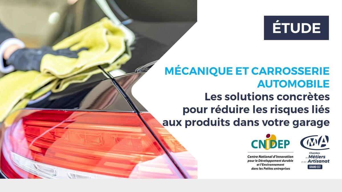 Agir sur les produits pour protéger notre santé et l'environnement : l'exemple de la mécanique automobile et carrosserie