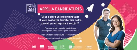 APPEL A CANDIDATURES -INCUBATEUR THE POOL