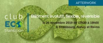 Club Eco-Transition : Bâtiment évolutif, flexible, réversible | AFTERWORK
