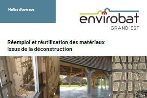 Fiches réemploi et réutilisation des matériaux de déconstruction - étapes clés