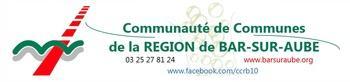 COMMUNAUTE DE COMMUNES DE LA REGION DE BAR-SUR-AUBE